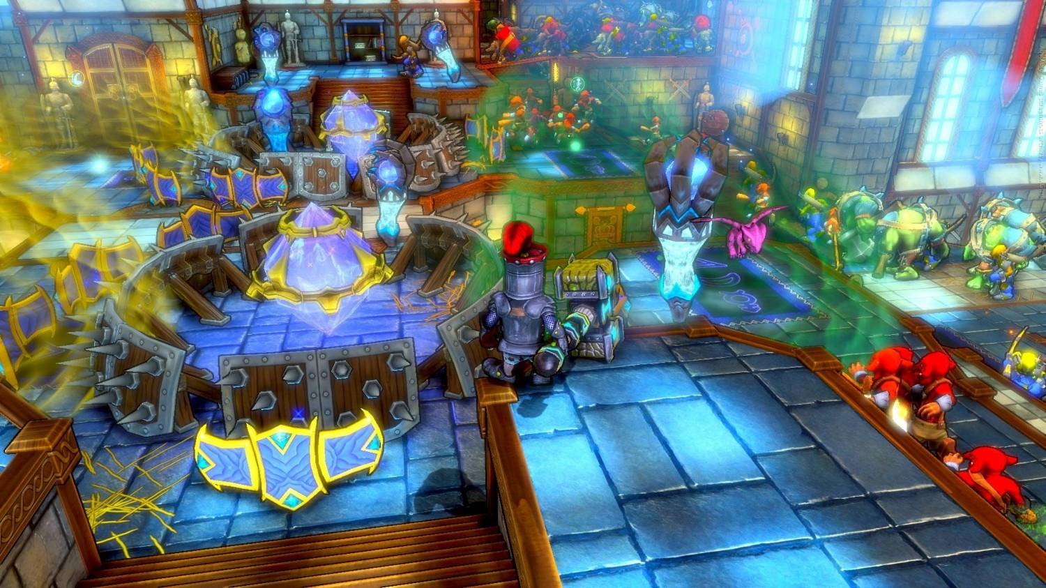 Dungeon Defenders [v 7.04 + 6 DLC] (2011) PC