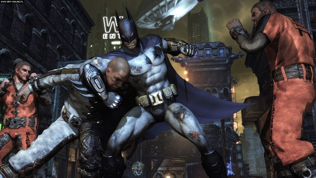 Batman: Arkham City + DLC (2011)[RePack] PC