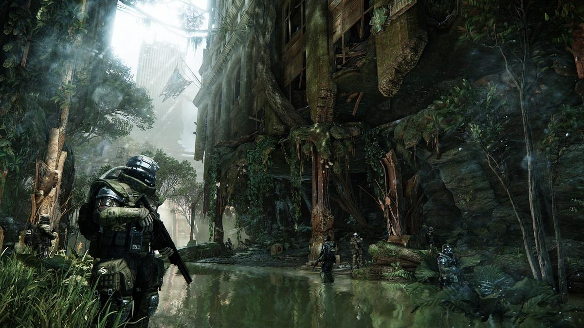Crysis 3 (2013) [RUSSOUND/FULL/Freeboot][JTAG] XBOX360