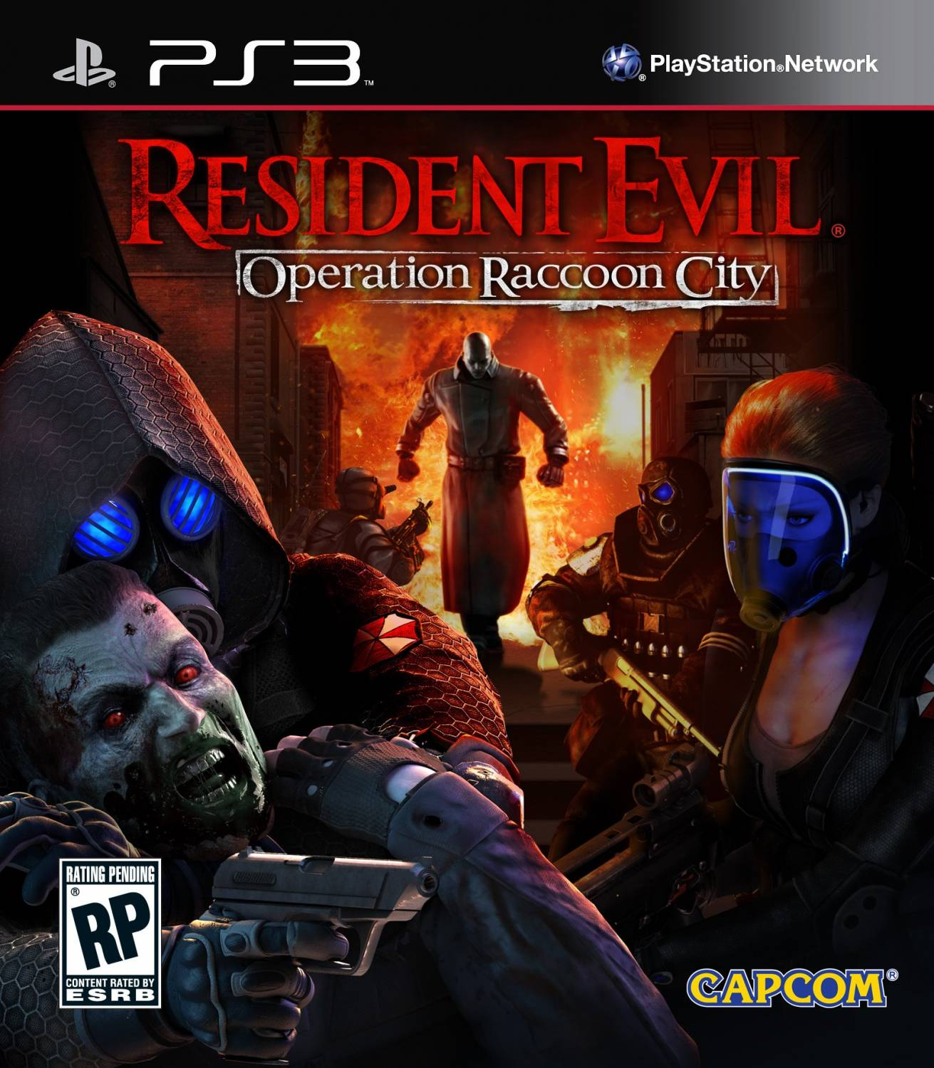 Resident Evil - Operation Raccoon City (RUS) [PS3]