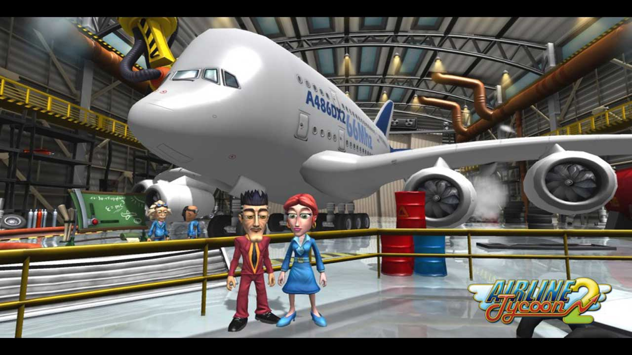 Airline Tycoon 2 (2011) [ENG]