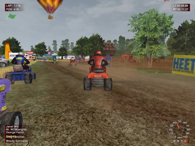 Lawnmower Racing Mania (2006/PC/Русский)