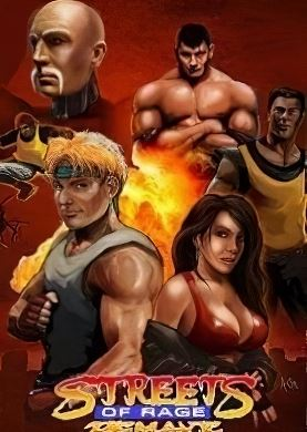 Streets Of Rage Remake (2015) PC